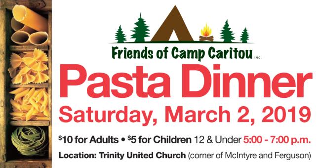 Friends Pasta Dinner 2019